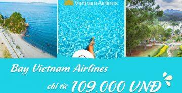vietnam airlines khuyến mãi vé nội địa từ 109.000đ